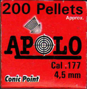 Bilde av Bailines Apolo Conic Point 4,5 mm