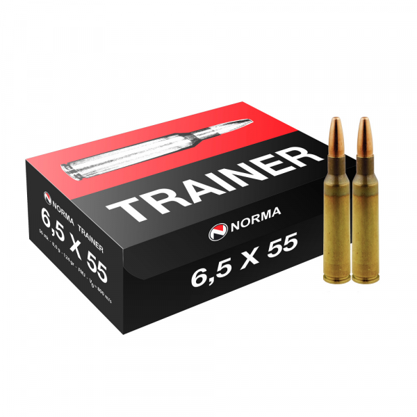 Norma Trainer 6,5x55 8,0g / 124gr